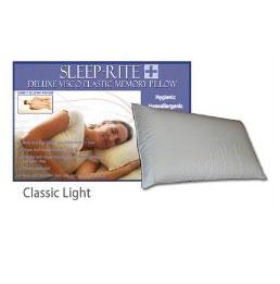Sleep-Rite-Deluxe-Visco-Elastic-Memory-Pillow